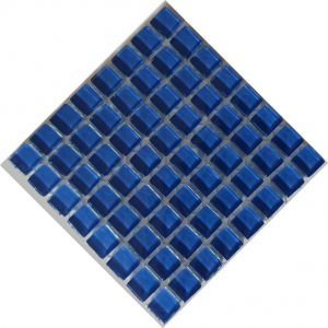 Crystal Glass water Blue 1010 mosaic tile