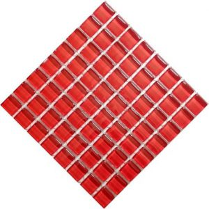 Cherry Red Crystal 10 by 10
